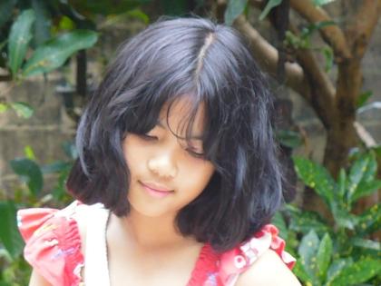 Ara, Gadis Kecilku (Foto: Swary Utami Dewi, Februari 2009)